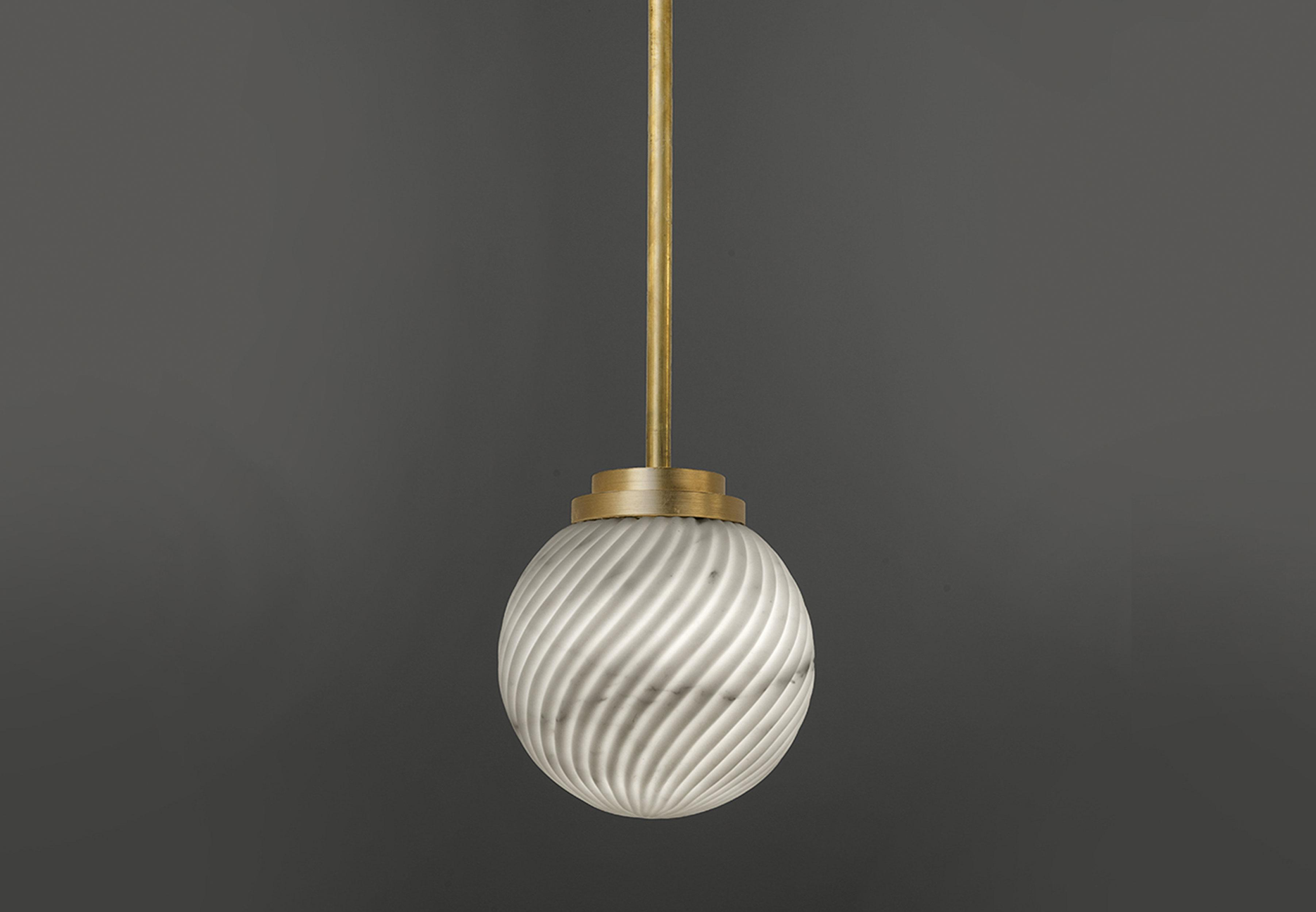 Victoria Marble Pendant Light